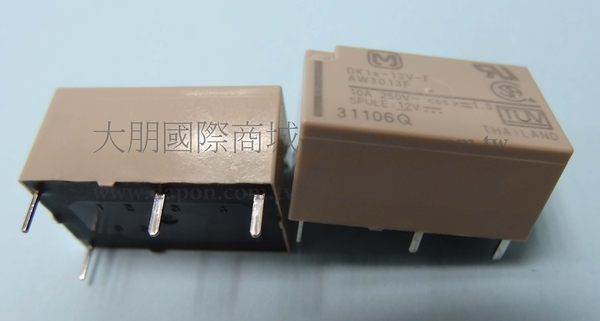 *大朋電子商城*Panasonic DK1A-12V-F 繼電器Relay(5入)