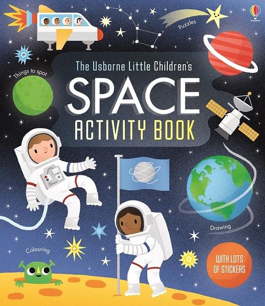 THE USBORNE LITTLE CHILDREN'S SPACE ACTIVITY BOOK /貼紙書