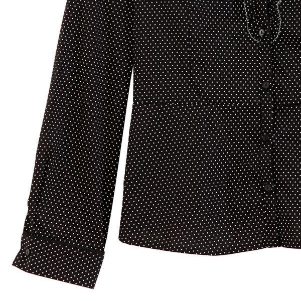 【MASTINA】點點襯衫-黑 0612