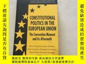 二手書博民逛書店歐盟憲法政治研究罕見Constitutional Politics in the European Union: