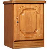 虎牌保險櫃家用密碼床頭櫃木殼隱形式指紋防盜保險箱60辦公保管櫃CY  【PINKQ】