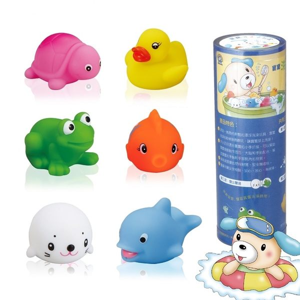 小牛津 - 寶寶洗澎澎玩具 (三種特色,最佳洗澡玩具)