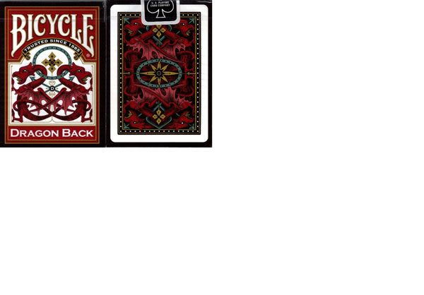 【USPCC撲克館】撲克牌BICYCLE Dragon時尚龍(紅)