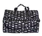 HAPI+TAS 摺疊小旅行袋 - 黑色...