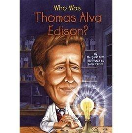 【人物傳記】WHO WAS THOMAS ALVA EDISON?