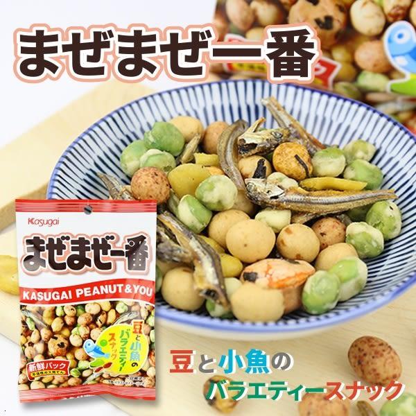 日本 春日井 一番什錦豆 70g【櫻桃飾品】【29146】