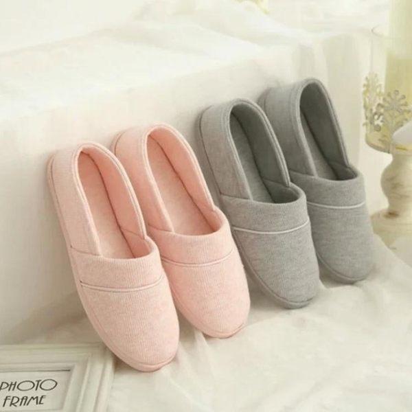 薄款月子鞋孕婦家居鞋軟底防滑防水產后鞋包跟坐月子拖鞋xx8592【Pink中大尺碼】