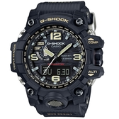 CASIO卡西歐G-SHOCK MUDMASTER極限大陸電波太陽能腕錶  GWG-1000-1A 米黃