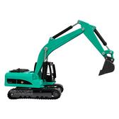 HY TRUCK華一 6012-2G挖掘機/藍綠 工程合金車模型車 怪手 挖土機(1:60)【楚崴玩具】