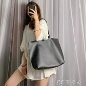 單肩包包女大容量百搭學生手提包新款韓版簡約托特包子母大包 卡卡西