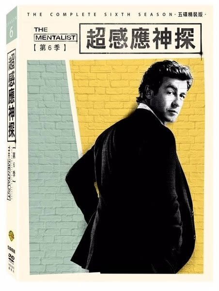 超感應神探 第六季 DVD 歐美影集 (購潮8)