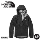 【The North Face 美國 女彈性防風軟殼外套《黑》】3VTR/防風外套/保暖外套