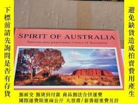 二手書博民逛書店SPIRIT罕見OF AUSTRALIA:Spectacular panoramic views of Austr