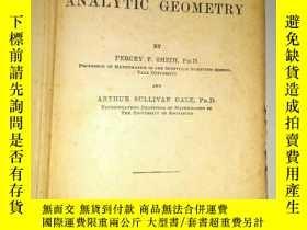 二手書博民逛書店《解析幾何》the罕見element of analytic g