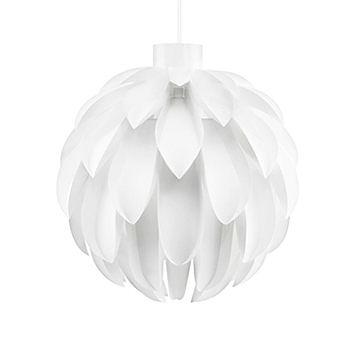 丹麥 Normann Copenhagen Norm 12 白色雕塑系列 果實 吊燈(特大尺寸)