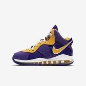 Nike Lebron Viii (gs) [CT5115-500] 大童鞋 籃球鞋 氣墊 避震 包覆 明星款 紫 金