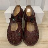 韓版鏤空洞洞鞋包鞋懶人鞋涼鞋涼拖鞋(35號/777-13099)