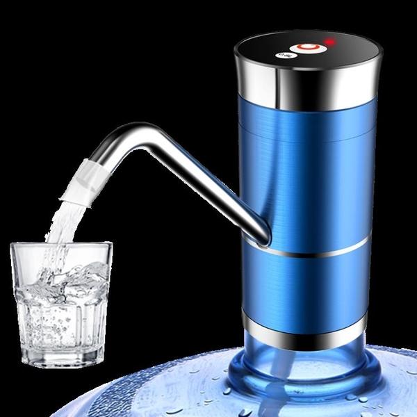 雙泵電動抽水器桶裝水純凈水桶壓水器礦泉水自動出水飲水機大桶吸 小艾新品