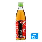 百家珍蘋果醋600ml*12【愛買】