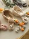 兒童圍巾女冬季男童寶寶可愛卡通兔子毛絨圍脖韓版潮加厚保暖脖套 黛尼時尚精品