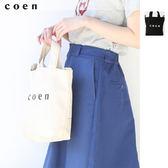 托特包 2WAY LOGO S 現貨 免運費 日本品牌【coen】