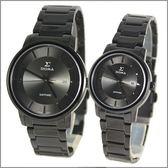 【萬年鐘錶】 日系SIGMA 經典全黑對錶 1122M-1122L-B