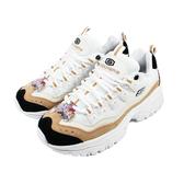 (B6) SKECHERS 女鞋 ENERGY 運動鞋 休閒鞋 老爹鞋 厚底增高 13413WNT 奶茶色 [陽光樂活]