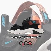 Nike 涼拖鞋 Wmns Canyon Sandal 黑 白 男鞋 魔鬼氈 運動涼鞋 【ACS】 CI8797-007