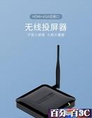 同屏器 海備思無線vga HDMI同屏器5G高清4K手機連電視投影儀投屏投影傳輸視頻 百分百