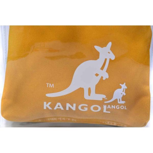 KANGOL 側背包 手提袋 透明/黃 6055302060 noC42
