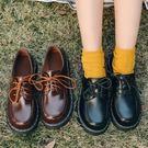 軟妹小皮鞋英倫風女鞋原宿學生韓版百搭2018春季鞋單鞋【快速出貨好康八折】