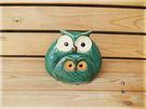 ~佐和陶瓷餐具~【XL050337-4JM-64綠親子貓頭鷹組】/ 裝飾 擺設 居家布置 送禮 /