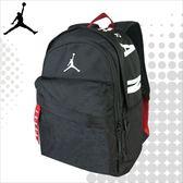JORDAN 喬丹 後背包 AIR PATROL 運動背包 休閒雙肩包 電腦包 中 黑色 8A0172-023 得意時袋