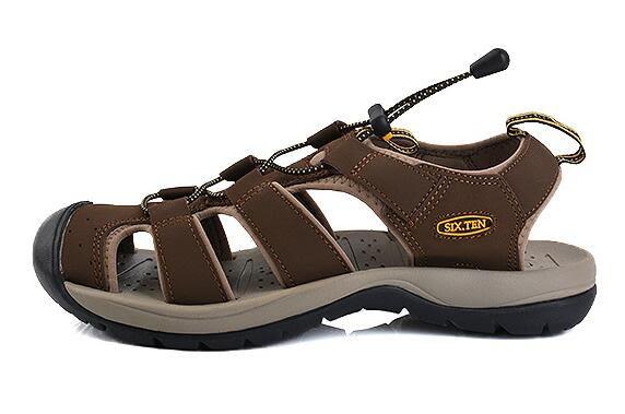 SIX.TEN沙滩鞋  戶外休閒涼鞋【藍星居家】