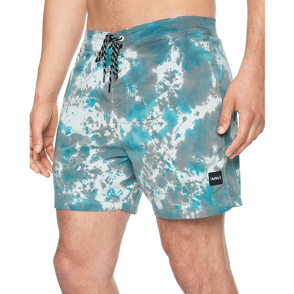Hurley M SESSION TIE DYE 16 OBSIDIAN 海灘褲-PHANTOM(男)