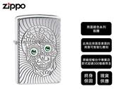 【寧寧精品】Zippo 原廠授權台中30年旗艦店 終身保固 防風打火機 鎧甲 骷髏 背面可雕刻 4485-1