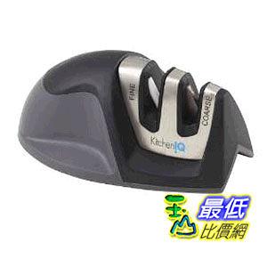 [美國直購 ] KitchenIQ 50009 Edge Grip 2 Stage Knife Sharpener 廚房用兩段式 磨刀組.菜刀磨刀器 $474