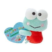 小禮堂 大眼蛙 迷你絨毛玩偶 玩偶萬用夾 夾式玩偶 娃娃夾子 (綠 2021角色大賞) 4550337-60984