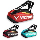 VICTOR 12支裝羽拍包(免運 裝備袋 雙肩包 後背包 手提袋 羽球 勝利≡體院≡ BR9209
