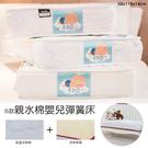 【居家cheaper】贈保潔墊 B款親水棉嬰兒彈簧床 58x118x14cm EDO 愛多床墊 手工床 台灣製造 草蓆 乳膠床