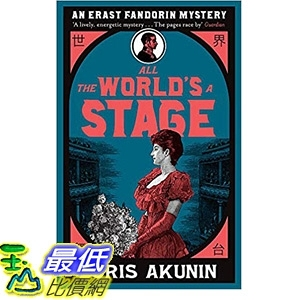 2018 amazon 亞馬遜暢銷書 All The World's A Stage: Erast Fandorin 11 (Erast Fandorin Mysteries)