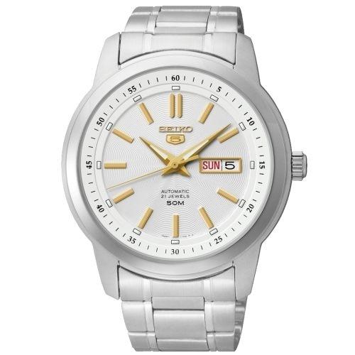【分期0利率】SEIKO 精工錶 日本製造 精工5號 自動上鏈機械錶 全新原廠公司貨 SNKM85J1