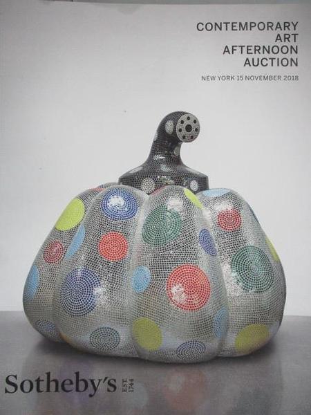 【書寶二手書T2/收藏_JX1】Sotheby s_Contemporary Art Afternoon Auction_2018/11/15