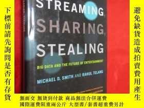 二手書博民逛書店Streaming,罕見Sharing, Stealing (硬