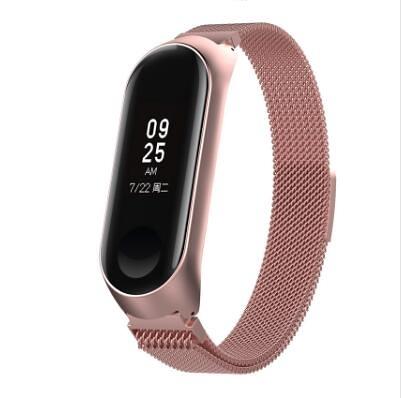 【小米手環 磁吸錶帶】不傷手錶 米蘭尼斯 小米手環4 錶帶 小米手環3 小米錶帶