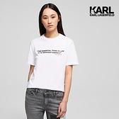 KARL LAGERFELD 傳奇KARL T恤-白