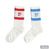NIKE 襪 U NK HERITAGE CREW 2PR 基本款短襪 - SK0205902