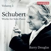 【停看聽音響唱片】【CD】舒伯特:鋼琴獨奏作品第五集 貝瑞.道格拉斯 鋼琴