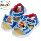 《布布童鞋》ANPANMAN麵包超人藍色寶寶嗶嗶涼鞋(13.5~15公分) [ B9E386B ]