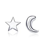 925純銀耳環(耳針式)-可愛獨特生日情人節禮物女飾品73al43[巴黎精品]